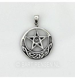 CelticPentagram pendant - silver