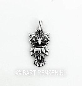 Uil hanger - zilver
