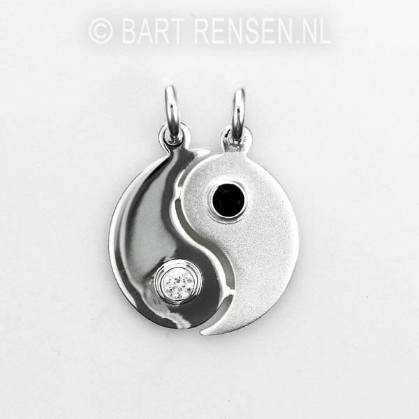 Yin-Yang pendant - silver 925