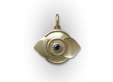 Golden Chakra pendants
