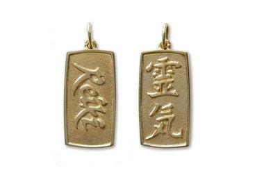 Gouden Reiki hangers