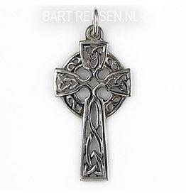 Zilveren Keltisch Kruis hanger