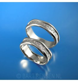 Wedding rings - silver