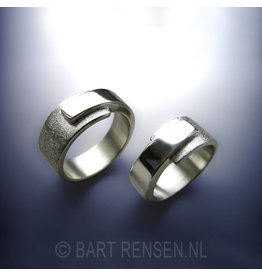 Wedding rings - zilver