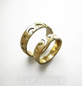 Weddingrings - gold