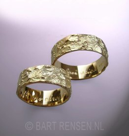 Wedding rings - goud