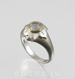 Lotus Ring - zilver