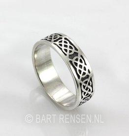 Keltische Ring - zilver