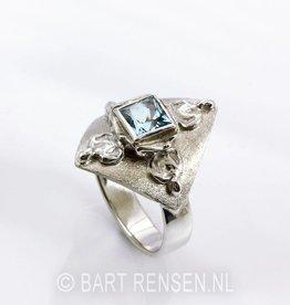 Boeddha Ring - zilver