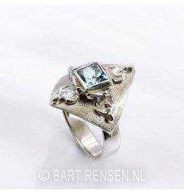 Buddha Ring - silver