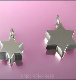 Ash pendant Star - silver
