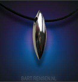 Ash pendants - silver