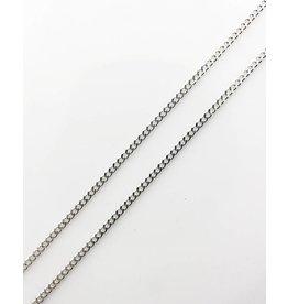 Gourmette Chain - Silver