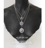 Jasseron chain - sterling silver