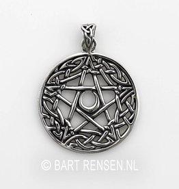 Pentagram pendant - Silver