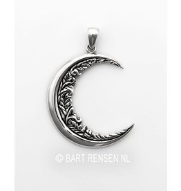 Moon Pendant - Silver