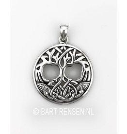 Yggdrasil hanger - zilver