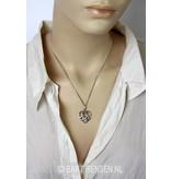 Triquetra hanger - echt zilver