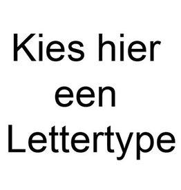 Graveer - Lettertypes