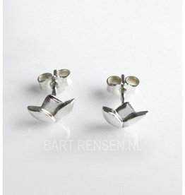 Lotus earrings - silver