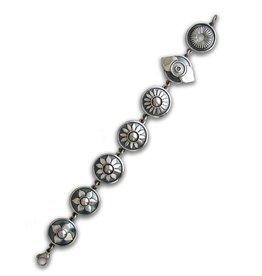 Zilveren Chakra armband
