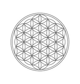Flower of Life gravering