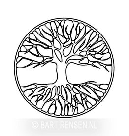 Engraving - Tree of life