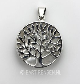 Tree of life pendant - silver