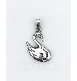 Zwaan hanger - zilver