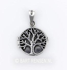 Levensboom Medaillon - zilver