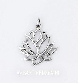 Lotus hanger - zilver