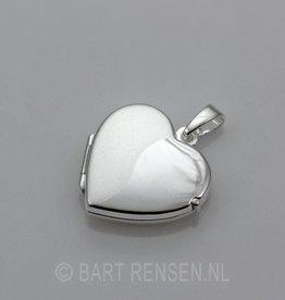 Hart Medaillon-zilver