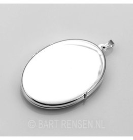 medallion-pendant - silver
