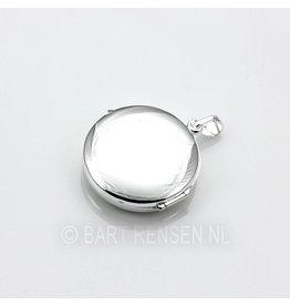 Medaillon - rond - zilver