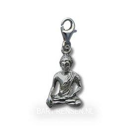 Boeddha Charm - zilver