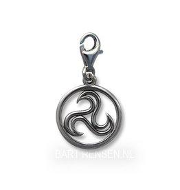 Triskel Charm - zilver