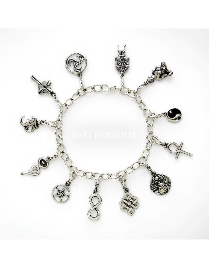 Bedel Armband - echt zilver