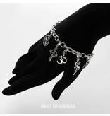 Charm bracelet - sterling silver