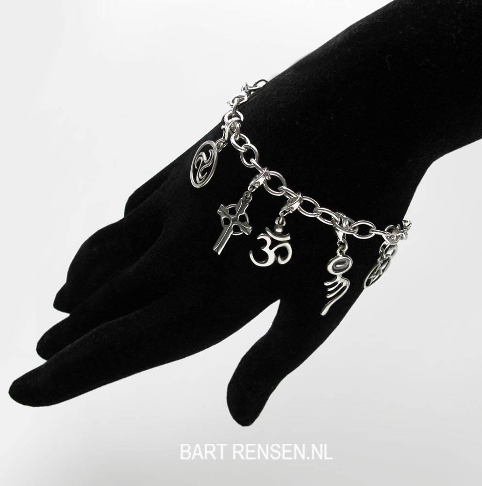 Ankh charm - silver 925