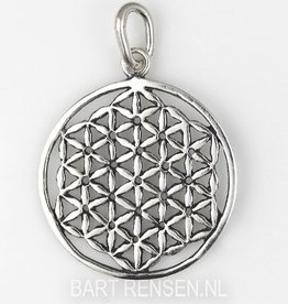 Flower of Life pendant -silver