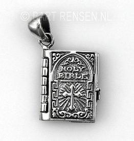 Bible pendant - silver