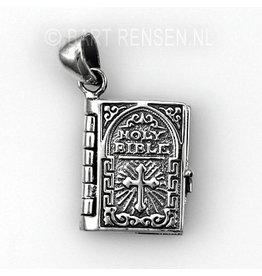 Bijbel hanger - zilver