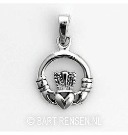 Celtic Claddagh pendant - silver