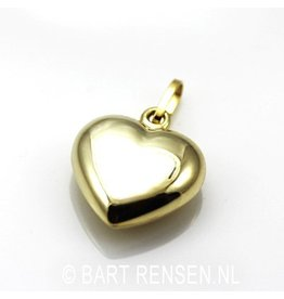 Heart pendant - gold
