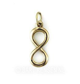 Infinity pendant - gold