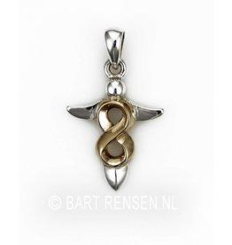 Infinity pendant - Silver
