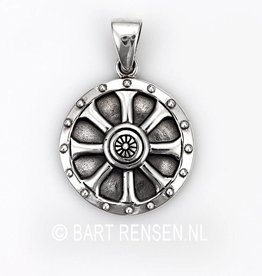 Viking Shield Pendant silver