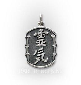 Reiki pendant - gold