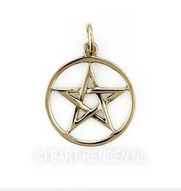 Golden Pentagram pendant -