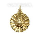 Daisy pendant - 14 carat gold